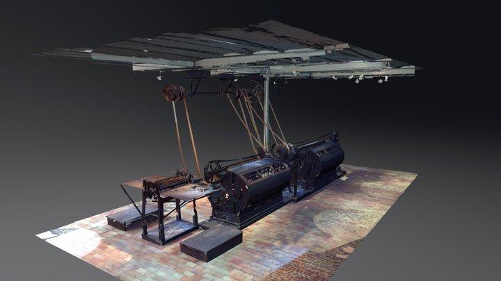 Turbine Scan - RealVisuals 3D Model