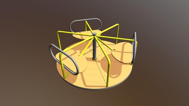 Carousel ● Карусель 3D Model