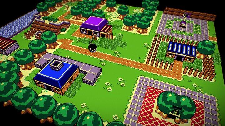 The Legend of Zelda - Link's Awakening DX 3D Model
