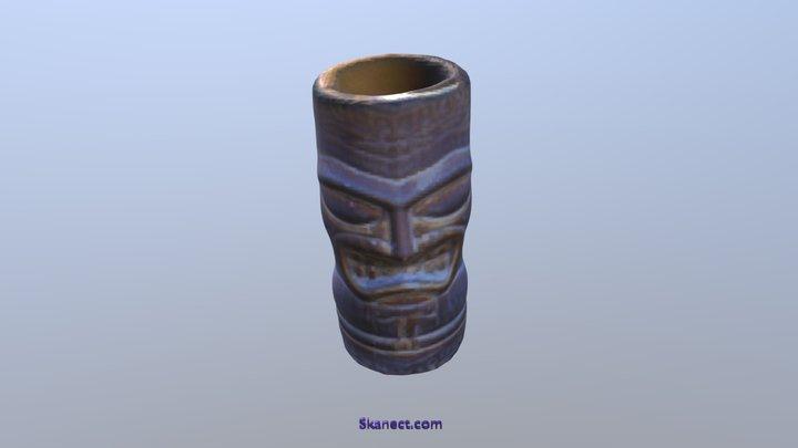 Tiki Mug 3D Model
