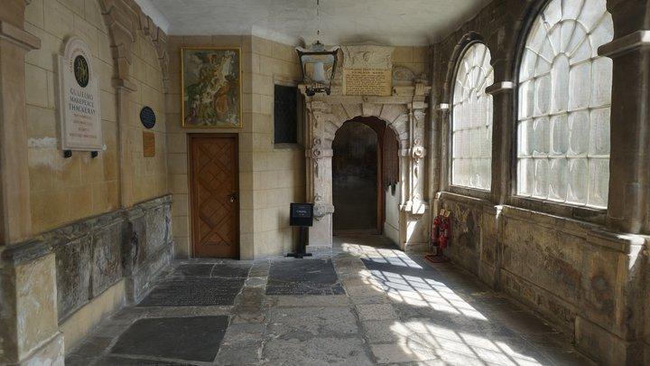 The Charterhouse Chapel Cloister 3D Model