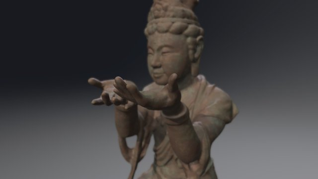 Buddha_II_001 3D Model