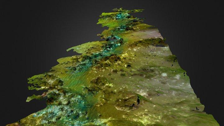 Chalk reef (North Norfolk) 3D Model