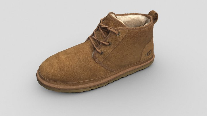 UGG Neumel boot chestnut 3D Model