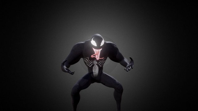 VenomAnimated 3D Model