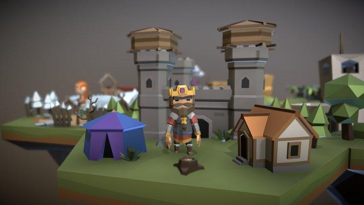 Scene 1no Center 3D Model