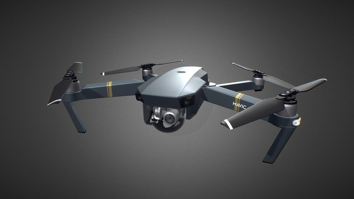 DJI Mavic Pro for Element 3D 3D Model