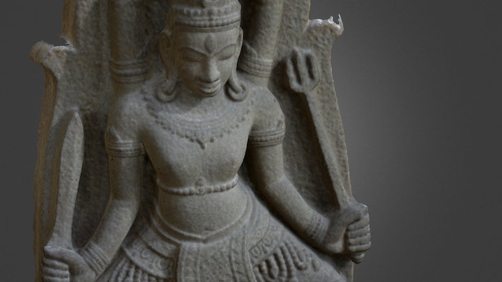The Lord SIVA _ XIII-XIVth century 3D Model