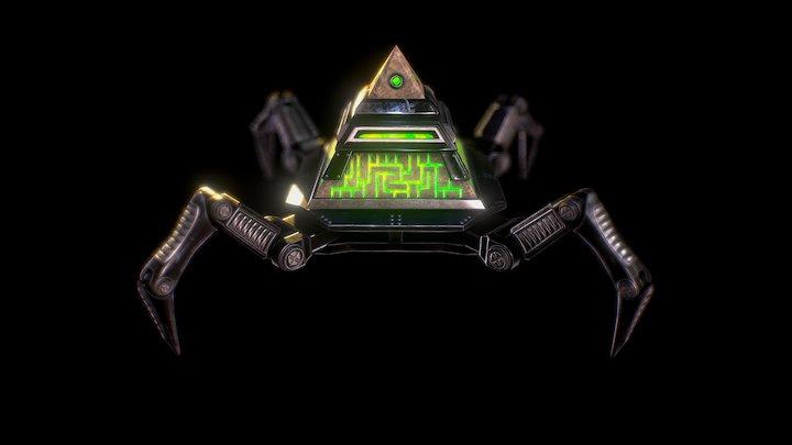 Mech-Pyramid 3D Model