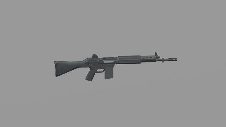 Howa Type 89 - Assault Rifle 3D Model