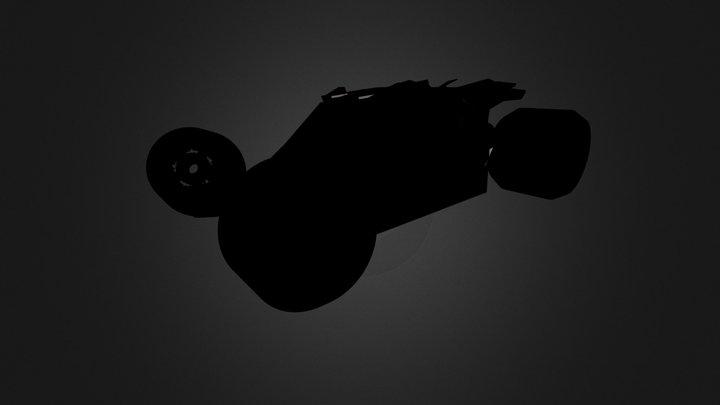 Batmobile Mini 3D Model
