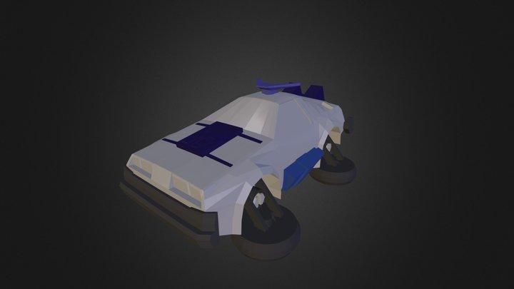 3DRacers - DeLorean 3D Model