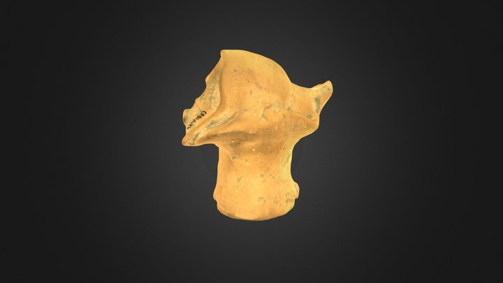 Terracotta Uterus - Utero in terracotta 3D Model