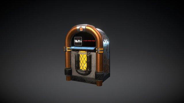 Jukebox HeroAsset 3D Model