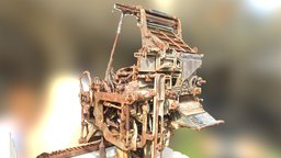 Linotype 3D Model