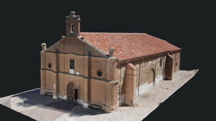 Ermita de Nuestra Señora de la Casita. Alaejos 3D Model