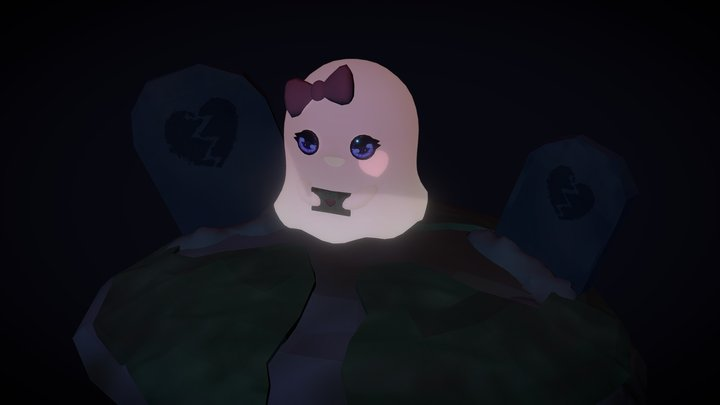 Ghostly Love 3D Model