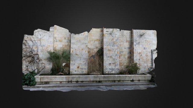 Fontana della Fossa di S. Guglielmo (CA) 3D Model