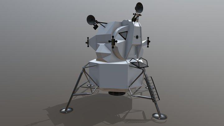Apollo Lunar Excursion Module 3D Model