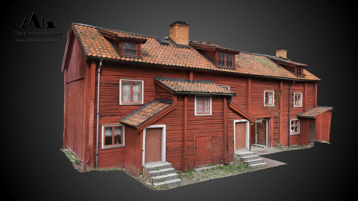 The Brewer´s house, Linköping, Sweden 3D Model