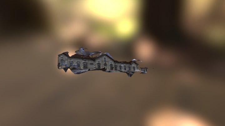 Rautatieasema 3D Model