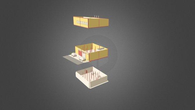 The Baking Cafe 3D Model