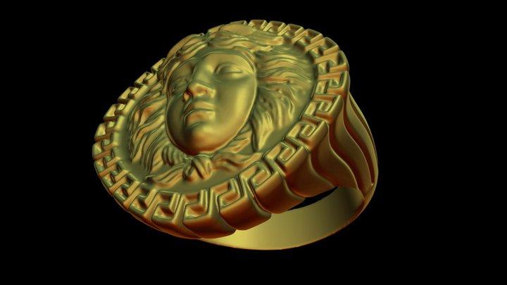 medusa ring 3D Model