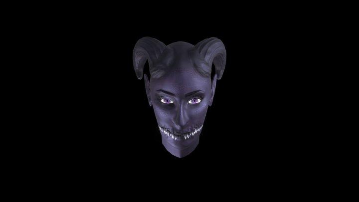 Monstrous face 3D Model