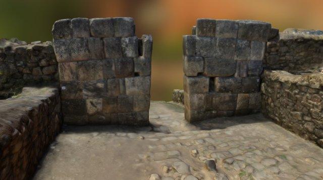 Puerta monumental inca de Aypate (Perú) 3D Model