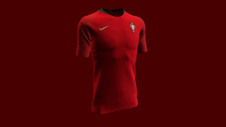 Portugal 2018 - Cristiano Ronaldo 3D Model