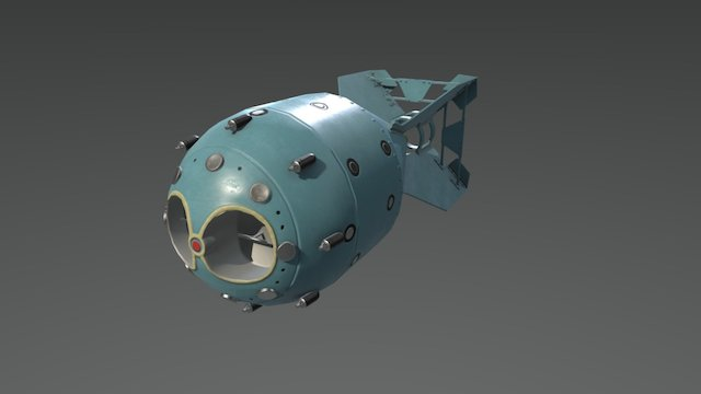 Rds-1 3D Model