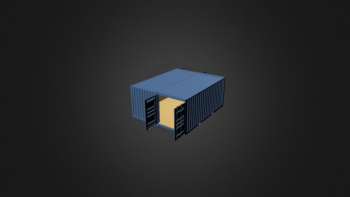 container3 3D Model