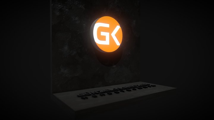 GK Signet 01 3D Model