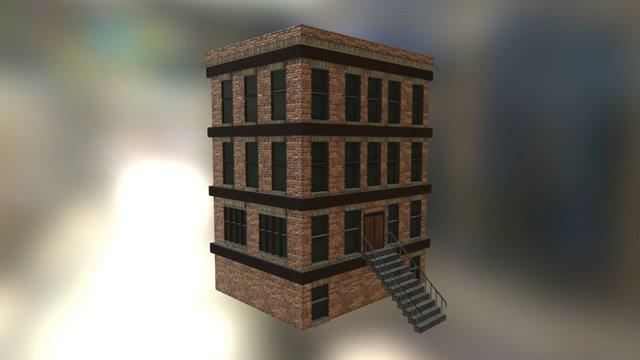 New York City style building 3D Model
