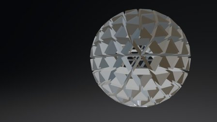 Light Sphere 3D Model