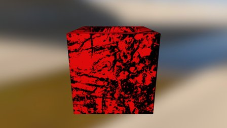 CUBE Substance Example 3D Model
