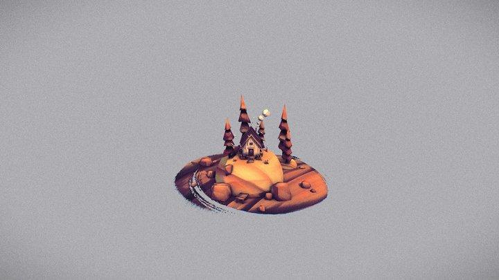 """Mökki"" Inspired by Denis Spichkin @denis_sd 3D Model"