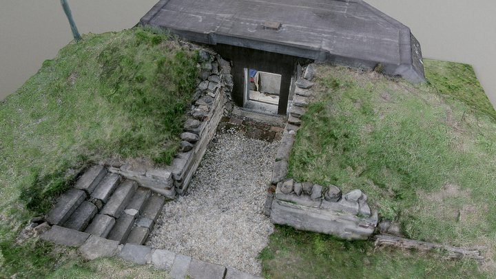 Bunker LO36 3D Model