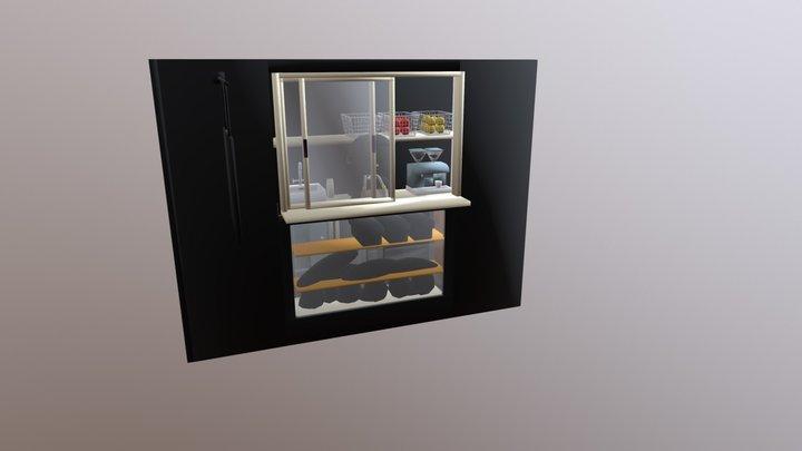 HUI喝咖啡_1065448029 3D Model