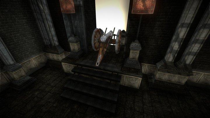 Castle Defense Chamber 3D Model