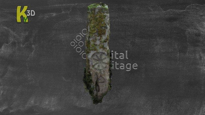 KE036-068 Pillar Stone - GLANNAGALT 3D Model