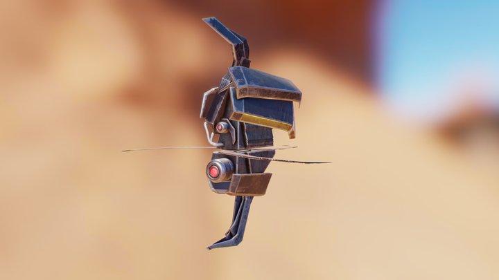 Half Life - Manhack 3D Model