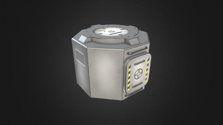 KSP - MK1 Lander Can (Fan-Art, Low-poly) 3D Model