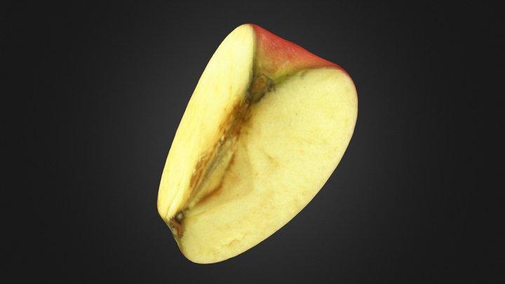 The Apple-2-Quarter 3D Model