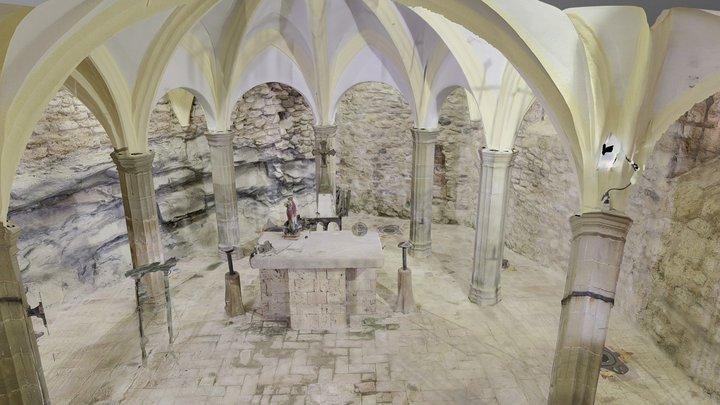 Esglèsia Sant Miquel del Fai 3D Model