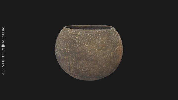 Decorated vase - PG.2808.1142 3D Model