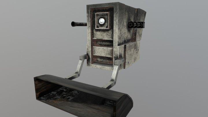Robot Support 3D Model