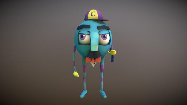 C-sphere  man 3D Model