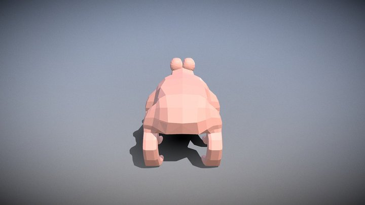 The Sapling: player created animal 3 3D Model