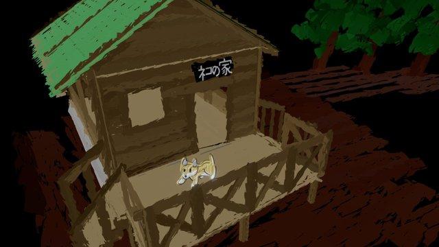 Cat's House - TiltBrush 3D Model